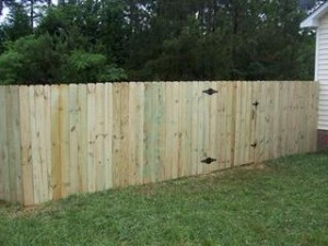Wood Fence Southport NC